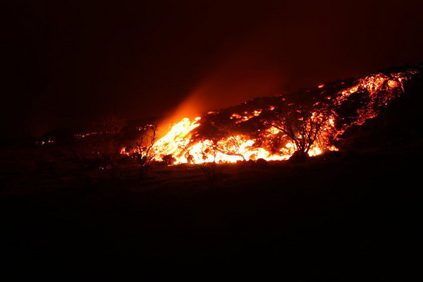 Lava flow on Pacaya - Photo by Nick Weaver