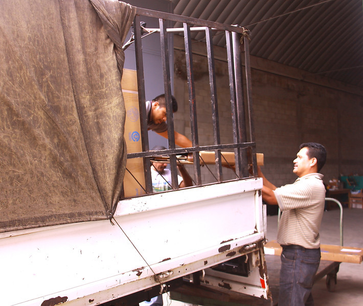 Loading the truck..