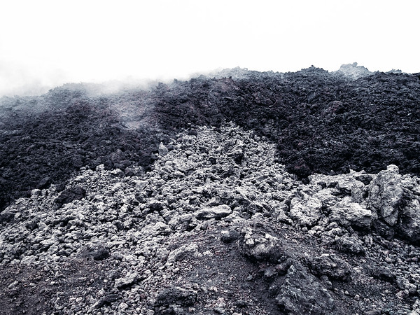 Dry lava on Pacaya Volcano in Guatemala.