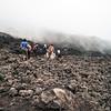Seaching for lava on Pacaya Volcano, Guatemala