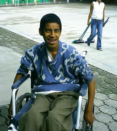 Saulo's Wheelchair gift