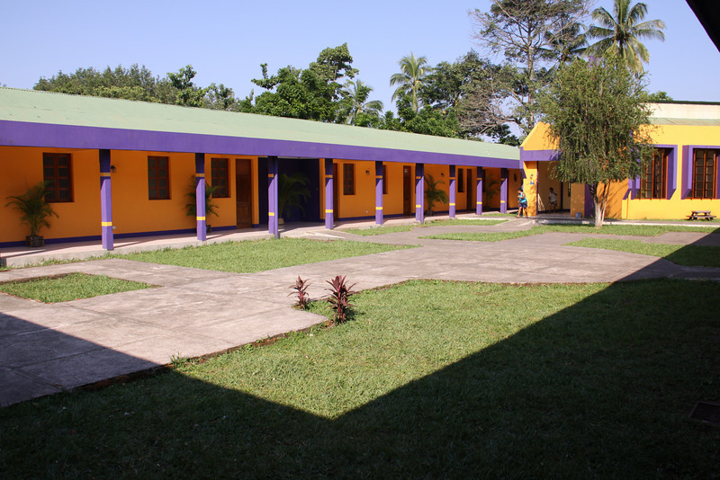 Courtyard of DAR orphanage.