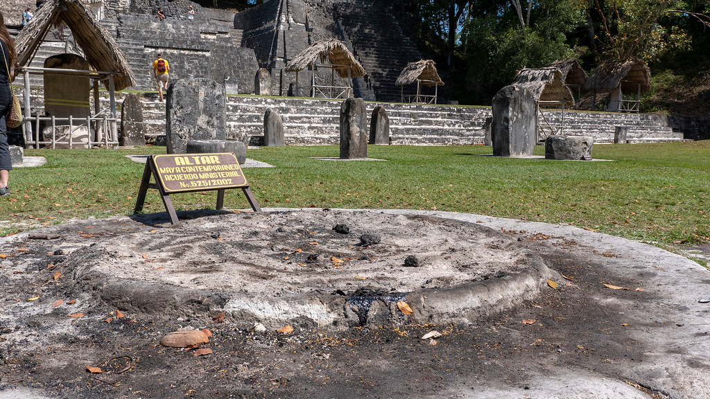 The Ultimate Guide to Visiting the Tikal Maya Ruins - Mayan altars