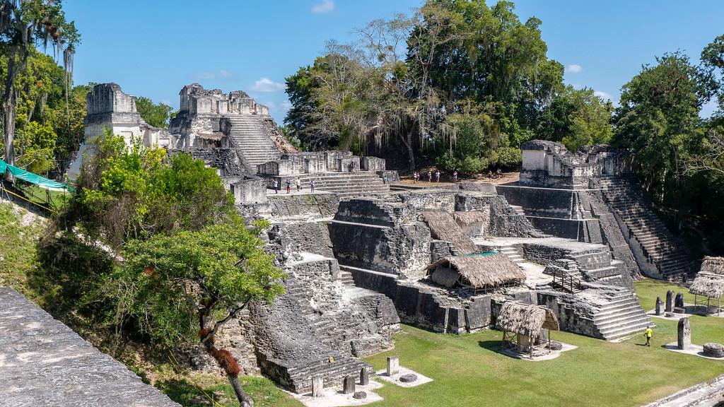 Guatemala Tikal - The North Acropolis - TIkal Mayan Ruins