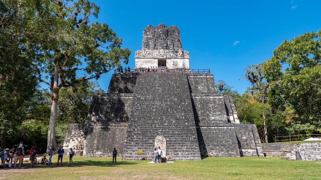 Guatemala Tikal - Temple II - Temples of Tikal