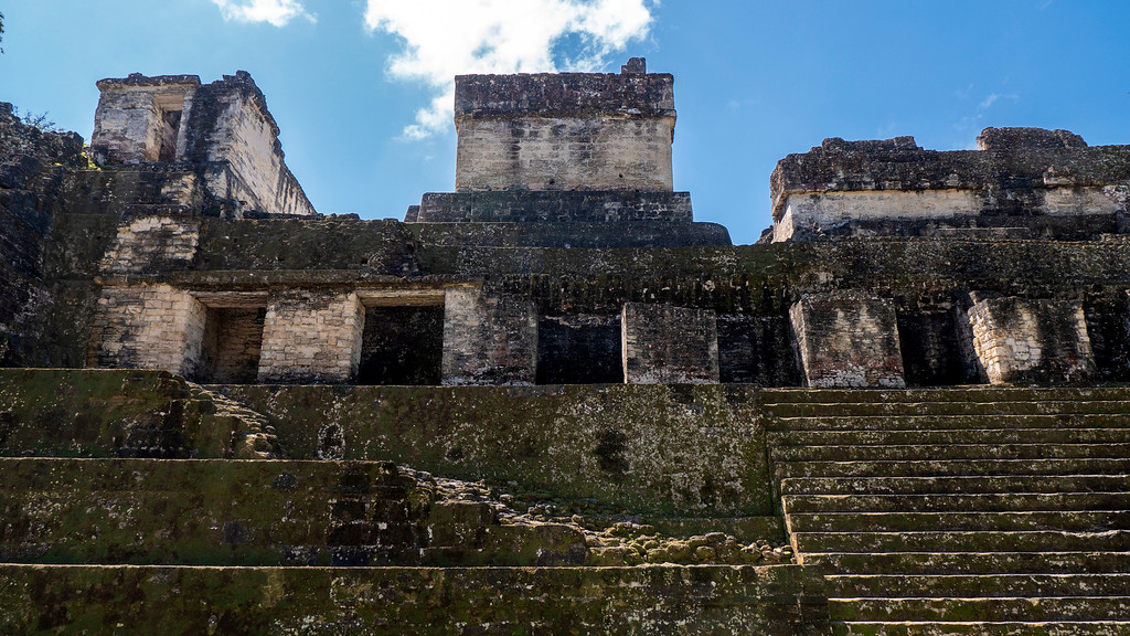 Temples of Tikal - Tikal Mayan Ruins