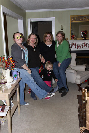 visit family and Christmas