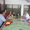 Meeting with Mixco Municipality representatives
