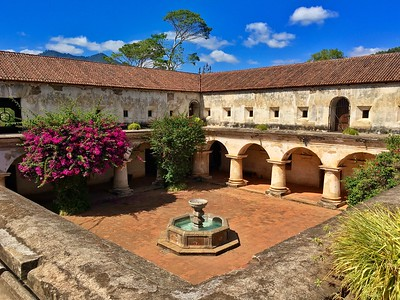 Capuchinas Convent in Antigua Guatemala