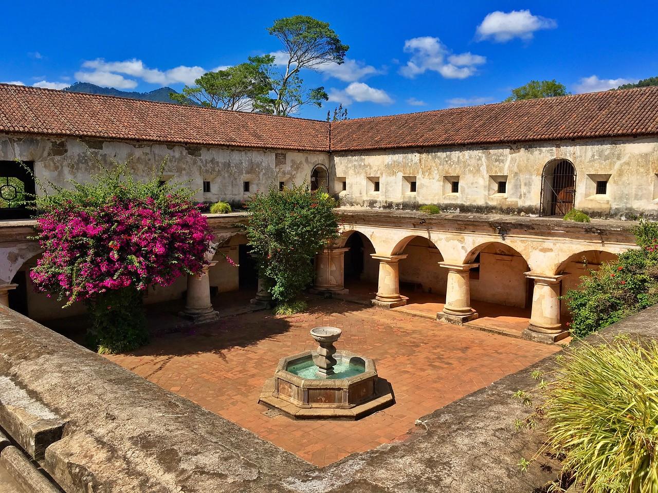 Capuchinas Convent in Antigua Guatemala