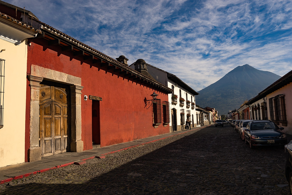 The Colonial City of Antigua, Guatemala