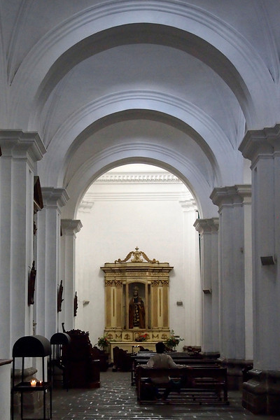 Interior Iglesia de Merced (Church of Mercy) Antigua