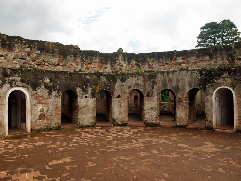 Capuchin Convent, Antigua Ruins of Ambulatory