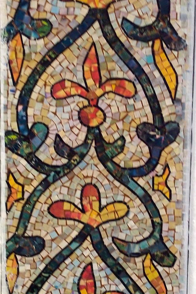 Mosaic Decoration Iglesia de Merced (Church of Mercy) Antigua