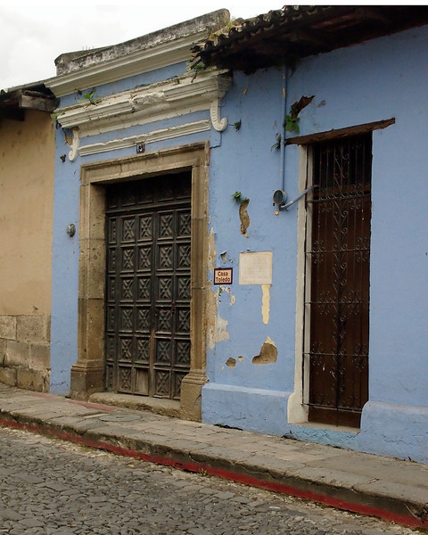 Street Scene, Antigua