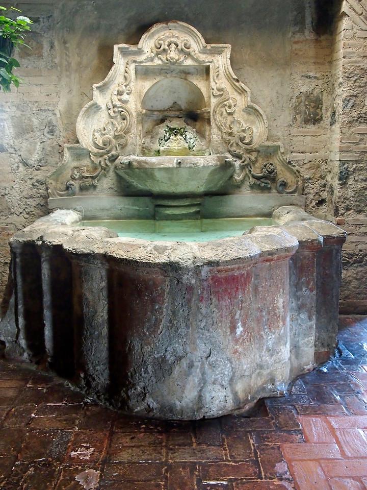Fountain Casa Santo Domingo