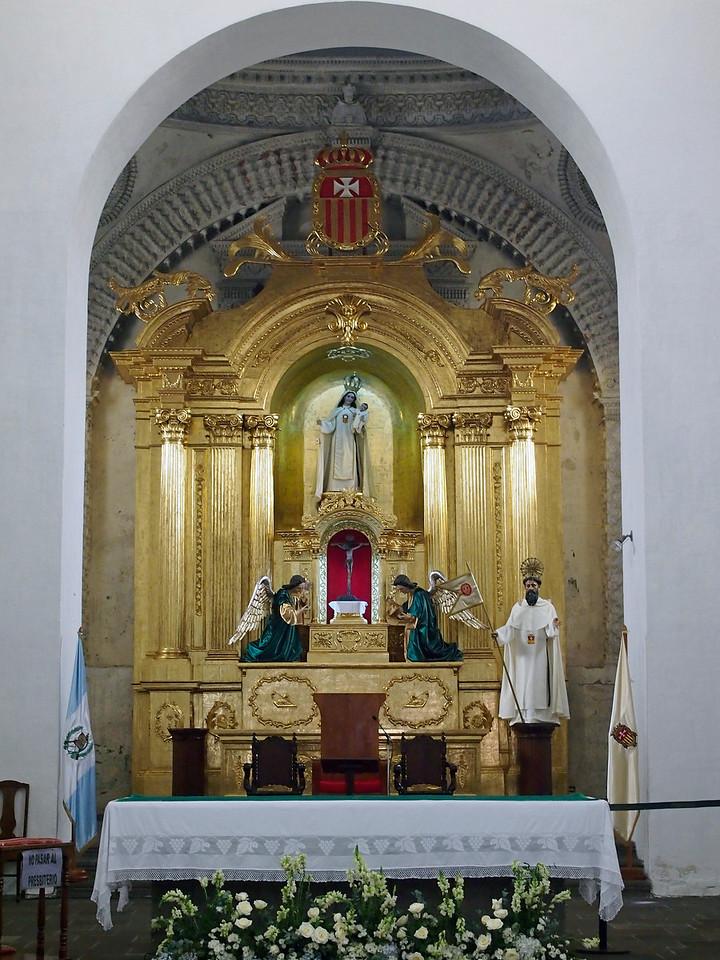 Altar, Iglesia de Merced