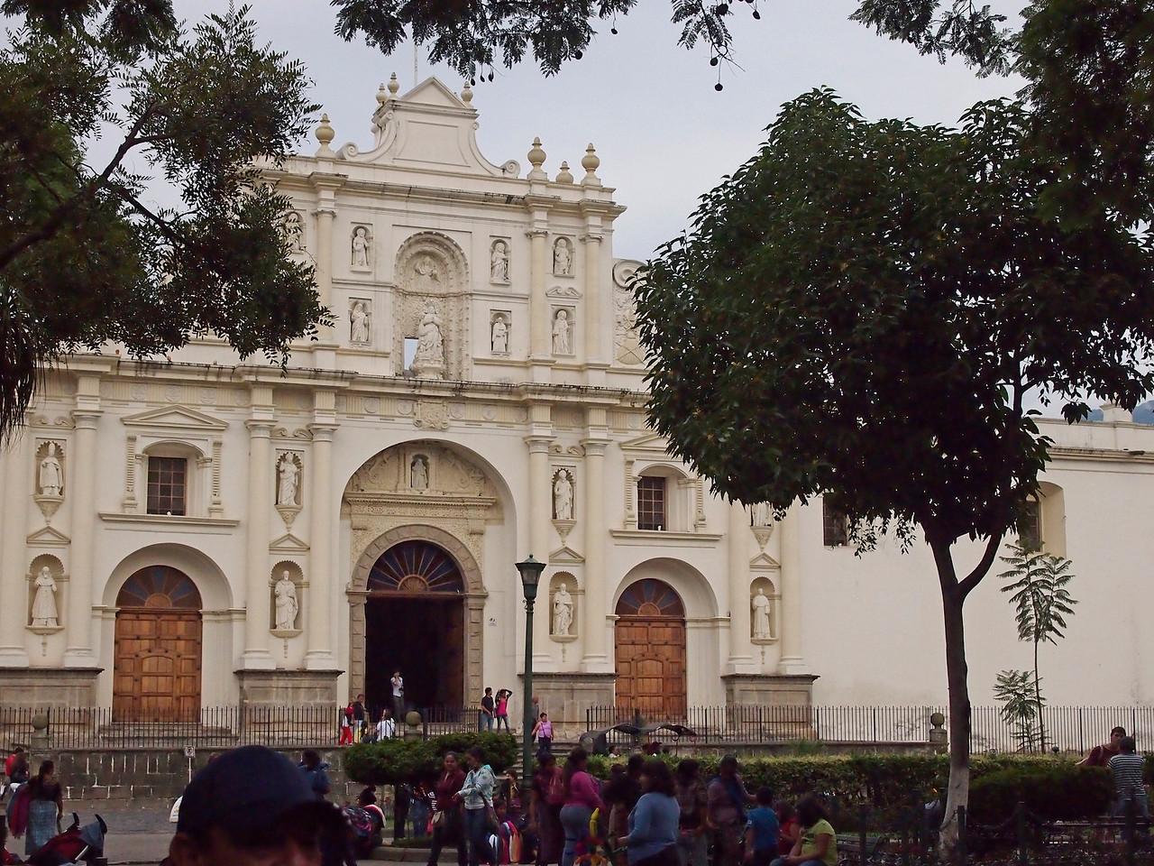 Cathedral Santiago, Antigua