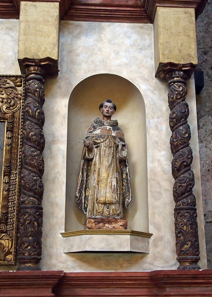 Santos from Altarpiece in Casa Santo Domingo