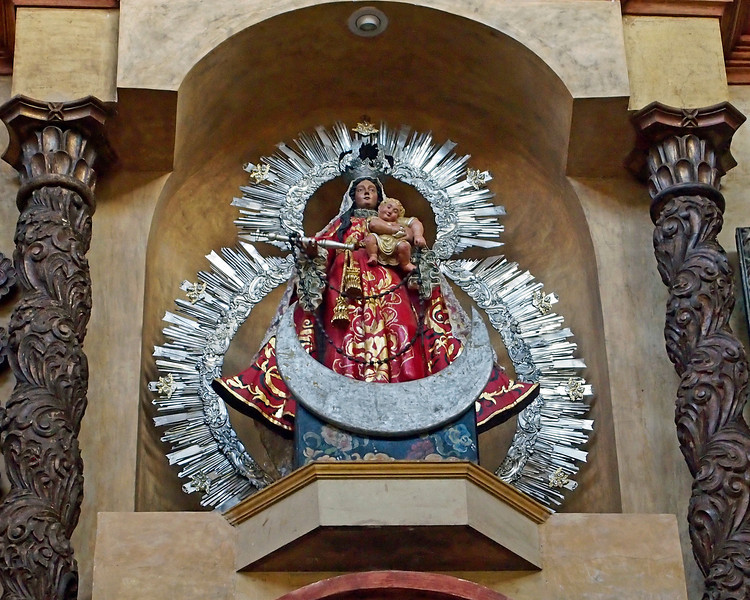 Virgin and Child from Altarpiece in Casa Santo Domingo