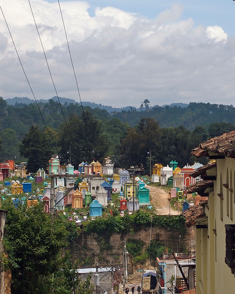 Cemetery from Chichicastenango
