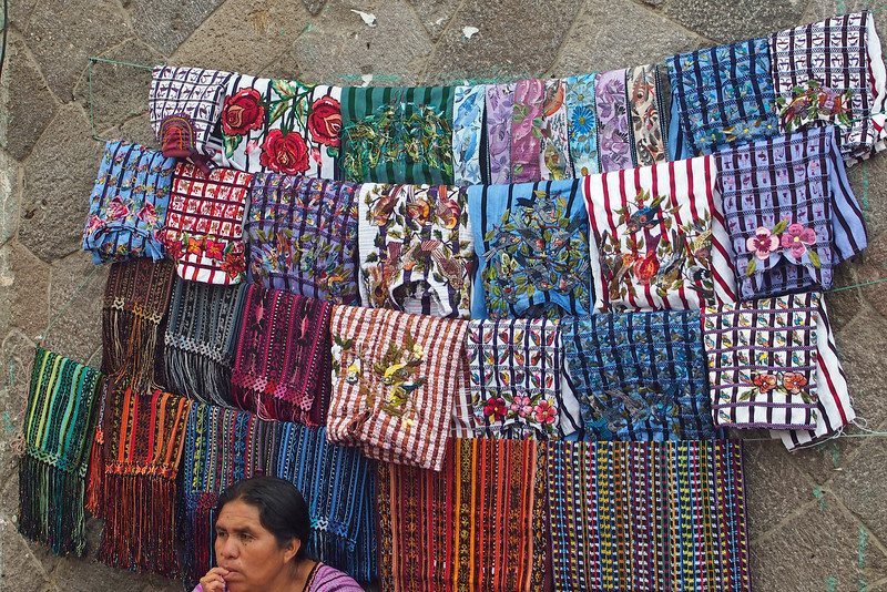 Textile Seller Santiago Atitlan