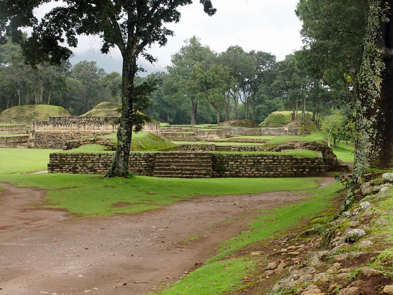 Iximche a Mayan city