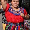 Lynn, Ma. 9-13-17. Martha Lobos heads into Lynn City Hall for the Guatemalan flag raising.