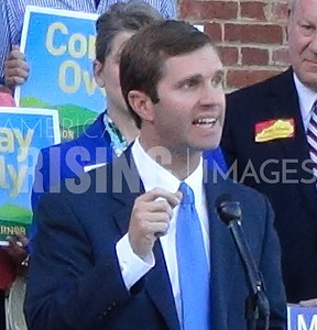 Andy Beshear at Primary Election Day Conference in Frankfort, KY