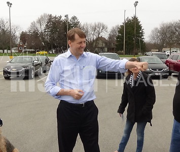 Richard Cordray At Meet And Greet In Sandusky, OH