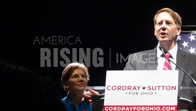 Richard Cordray At Ohio State University Rally With Elizabeth Warren In Columbus, OH