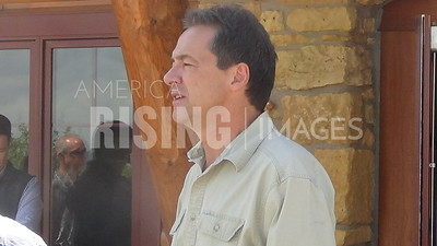 Steve Bullock attends event in Clinton, IA