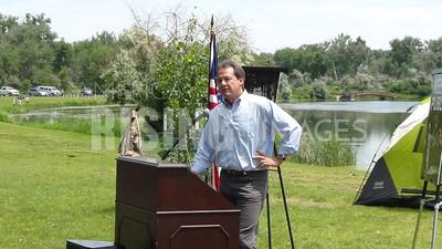 Steve Bullock At Public Land Access Event In Billings, MT