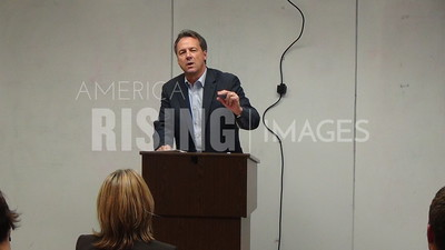 Steve Bullock At Workforce Tour Event In Missoula, MT