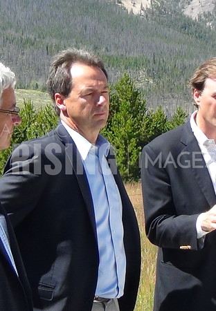 Steve Bullock At Good Neighbor Agreement Signing In Helena, MT