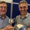 2017 winners of Swiss Pairs NE & CI Swiss Pairs - George Couzens & Brian Parkin