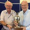 2017 Men's Pairs winners - Ted Latham & Peter Baxter