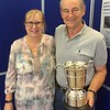 2017 Channel Island combined winners - Anne Babbe & Don Babbe