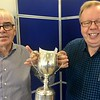 2017 Swiss Pairs winners - Reidar Laland & Rune Hauge