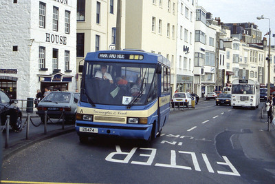 Guernseybus 001_62 Sth Esplanade St Peter Port Sep 97