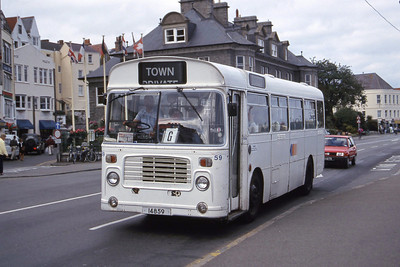 Guernseybus 059 Sth Esplanade St Peter Port 2 Sep 97