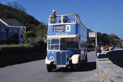 Guernseybus 014 Pleinmont 4 Sep 97
