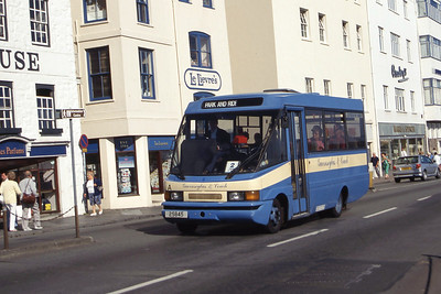 Guernseybus 004 Sth Esplanade St Peter Port Sep 97
