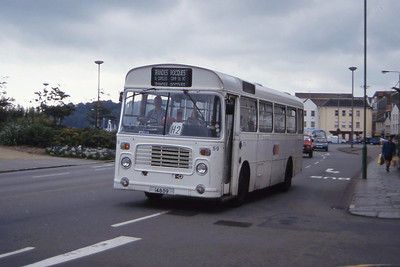 Guernseybus 059 Sth Esplanade St Peter Port 1 Sep 97