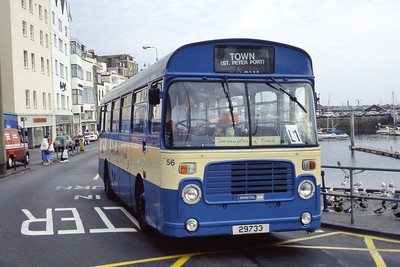 Guernseybus 056 Sth Esplanade St Peter Port Sep 97