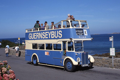 Guernseybus 014 Pleinmont 2 Sep 97