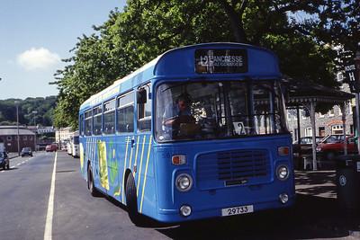 Guernseybus 056 St Peter Port Bus Stn Jun 92