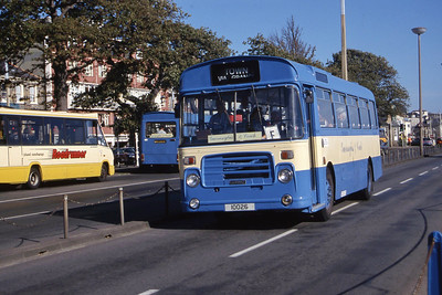 Guernseybus 057 The Strand St Peter Port Sep 97