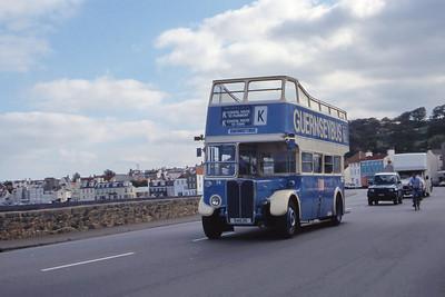 Guernseybus 014 Les Banques St Peter Port 2 Sep 97