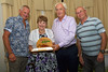 Katina Jones of Floral St Peter Port presented with the Floral Guernsey Horticulture Award